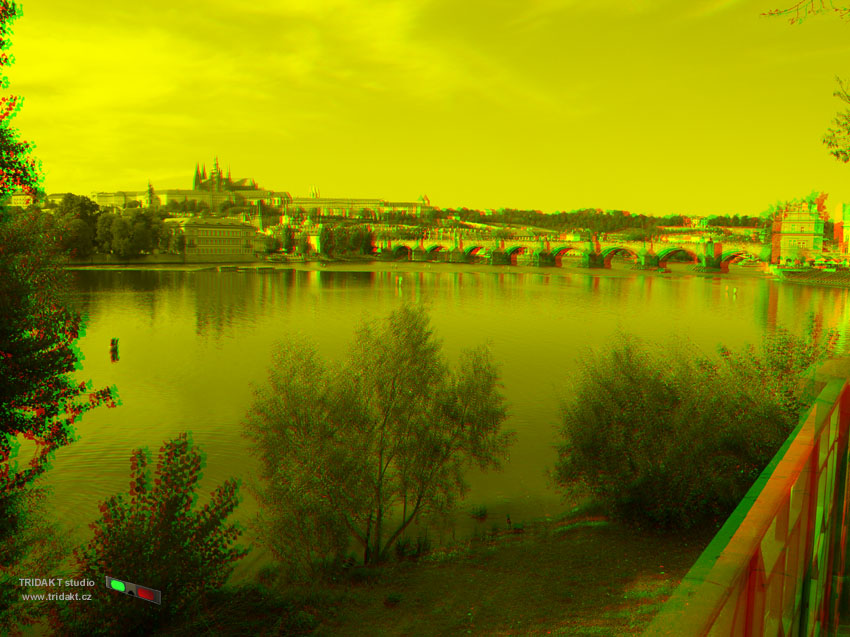 3D foto anaglyph - red-green